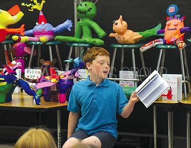 Manasquan Meet the Monsters: 4th grader Liam Pollock