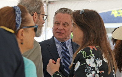 Congressman Chris Smith A post office dedication ceremony for Dr. Walter S. McAfee in Belmar, NJ on 8/30/19. [DANIELLA HEMINGHAUS]