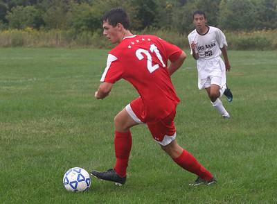 Wall High School boys soccer v/s Red Bank Region Hgh School in Wall, NJ on 9/12/18. [DANIELLA HEMINGHAUS | THE COAST STAR]
