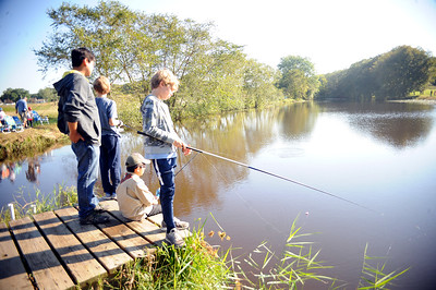 THE WALL KIDS FISHING DERBY HELD IN WALL, NEW JERSEY WAS A FUN EVENT FOR MANY OF THE LOCAL AREA KIDS ON 09/29/2018. (STEVE WEXLER/THE COAST STAR).
