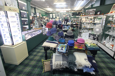Irish Centre located at 1120 3rd Ave. in Spring Lake is owned by Aidan & Moya Rush and ffer the largest collection of Belleek China outside of Ireland and carry many lines of Waterford Crystal, traditional Aran knitwear, Tara's Diary and other Celtic jewelry. (MARK R. SULLIVAN /THE COAST STAR)
