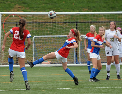 THE WALL HIGH SCHOOL GIRL'S VARSITY SOCCER TEAM TOOK ON THE POINT BORO PANTHERS AT WALL MUNICIPAL COMPLEX FIELDS ON 11/02/2018. (STEVE WEXLER/THE COAST STAR).