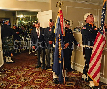 members of the american legion post 432 color guard