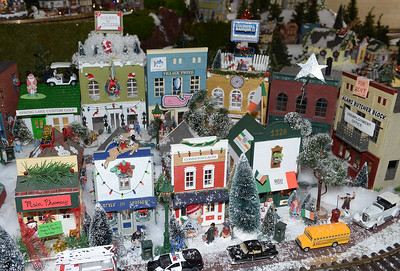 THE ANNUAL CHRISTMAS VILLAGE AND MODEL TRAIN DISPLAY WAS HELD AT DUGGAN HALL IN SPRING LAKE, NEW JERSEY ON 11/24/2018. (STEVE WEXLER/THE COAST STAR).
