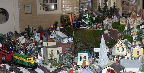 THE ANNUAL CHRISTMAS VILLAGE AND MODEL TRAIN DISPLAY AT DUGGAN HALL, SPRING LAKE, NEW JERSEY ON 11/24/2018. (STEVE WEXLER/THE COAST STAR).