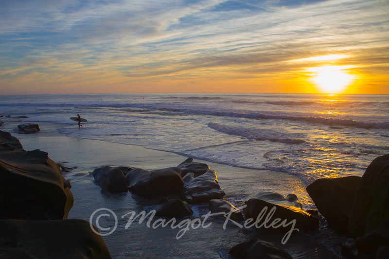 Surfer Sunset II, San Diego