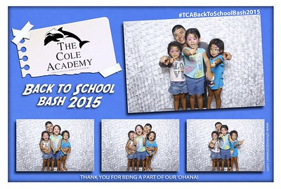 The Cole Academy Back To School Bash 2015 (Fusion Photo Booth)