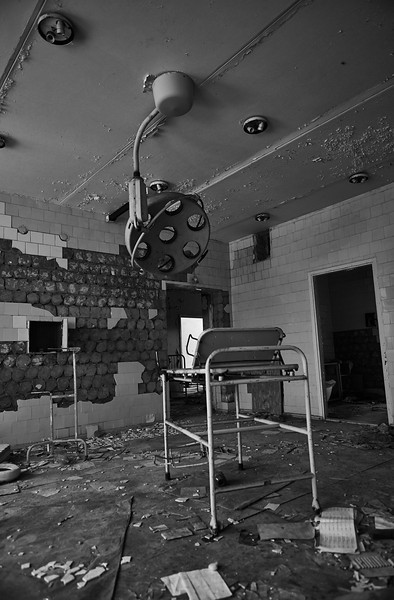 The State of Art hospital at Pripyat