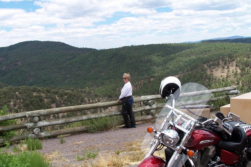 Roadside stop near US 180, NM.