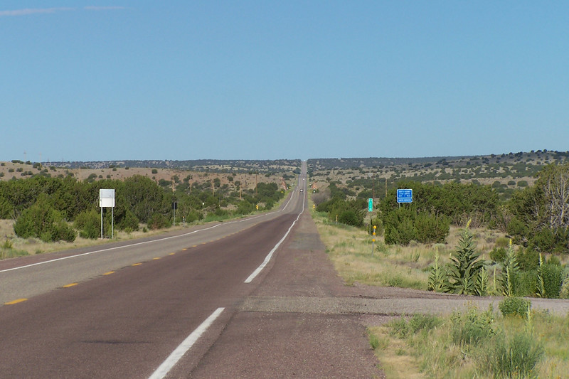 West of Magdalena, NM.