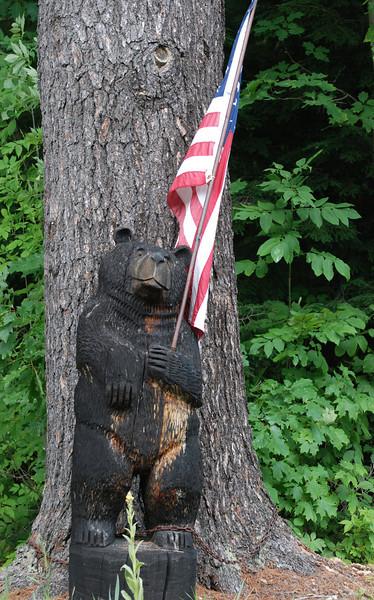 Patriotic Bear<br /> Indian Lake, NY