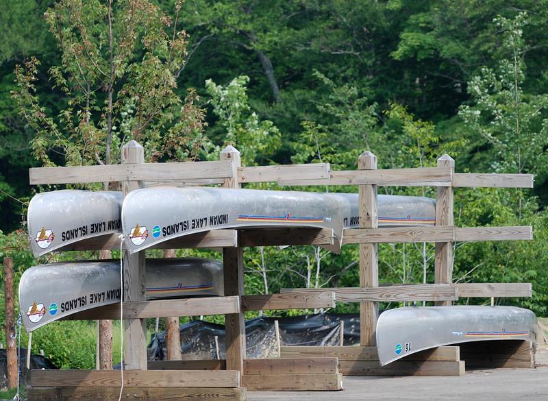 Many Canoes<br /> Indian Lake,NY