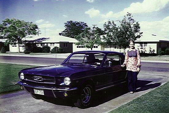 1964 1/2 Ford Mustang<br /> Picture from 1971
