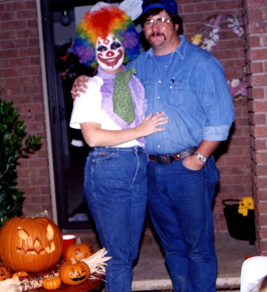 Halloween 1992 or so.