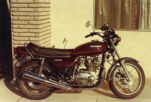 Dale's ride. 1978 Kawasaki