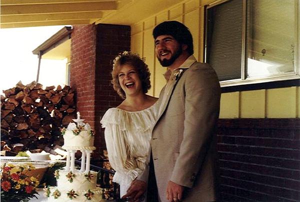 Wedding day<br /> Sept 4, 1982