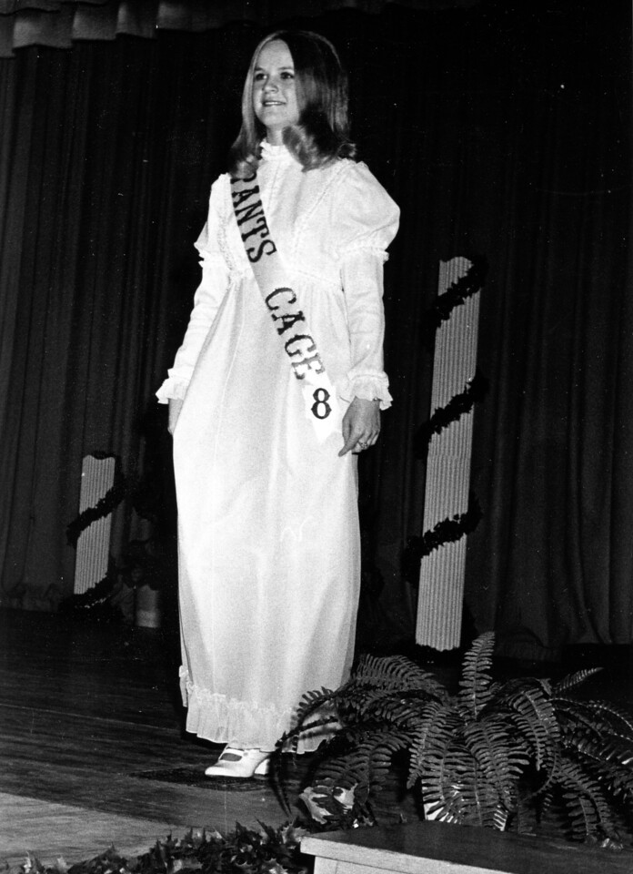 1st Runner Up<br /> Miss Teenage Hereford Pagent<br /> 1971
