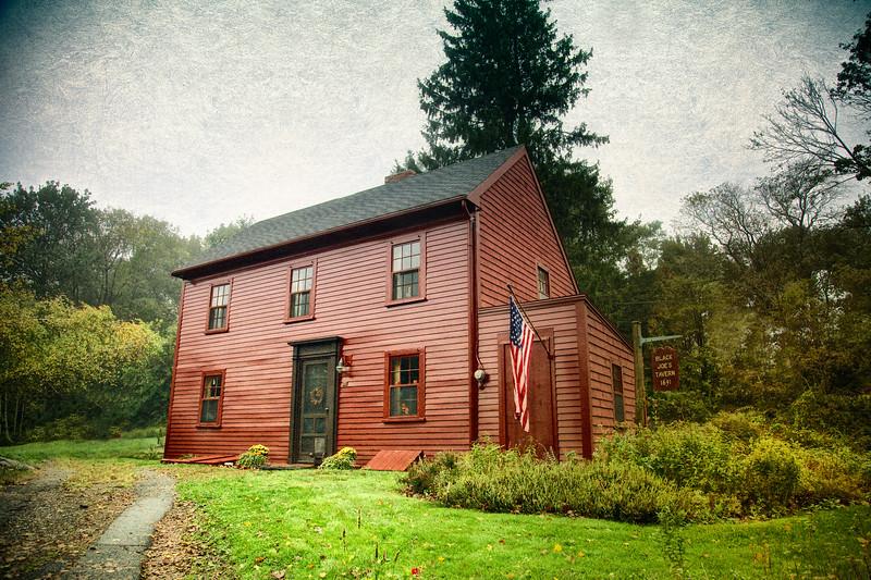 New England Architecture: Black Joe's Tavern, c. 1891. Marblehead, Essex County, Massachusetts