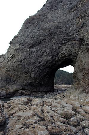 Hole in the Wall 0 Rialto Beach