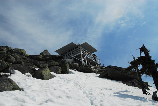 Pilchuck Fire Lookout.
