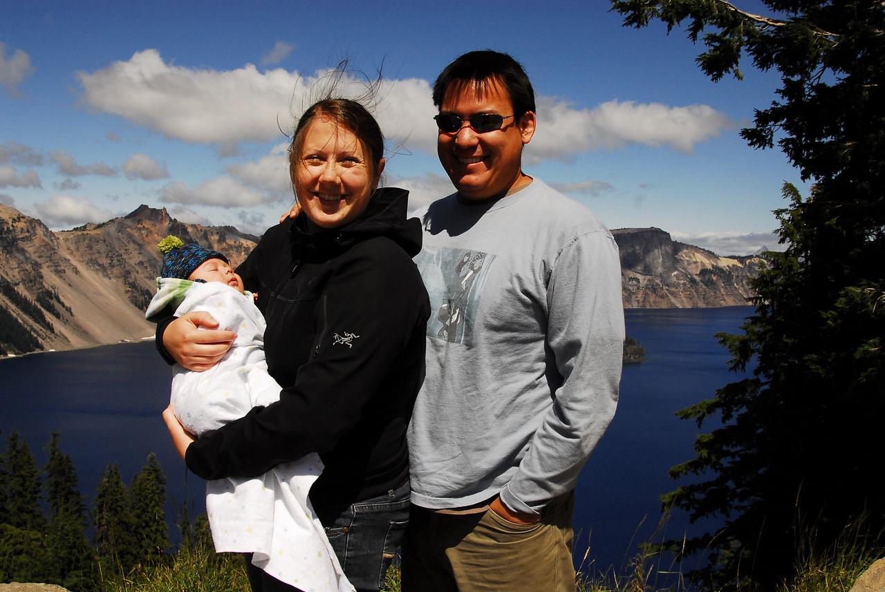 Crater Lake National Park.