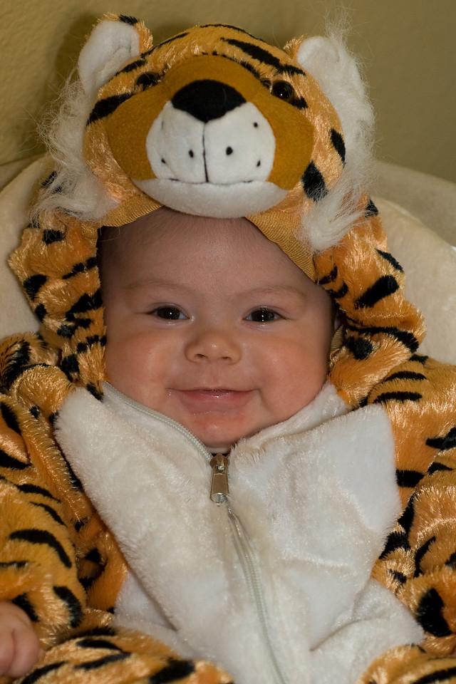 Halloween 2009. 3 1/2 months old.
