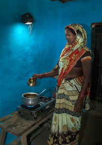 Rechargable solar lanterns from TCF also make cooking much easier, so wood is not needed to create light.