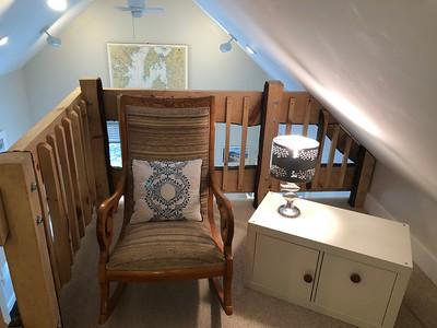 Sitting Nook in Loft