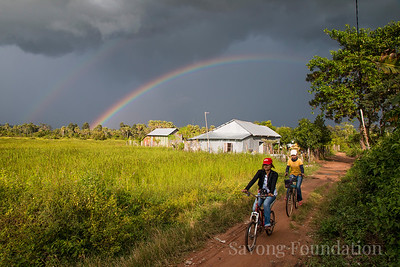 Rainbows in Cambodia