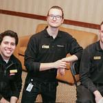 Steven Cabesas, Daniel Carrell and Torin Madden.
