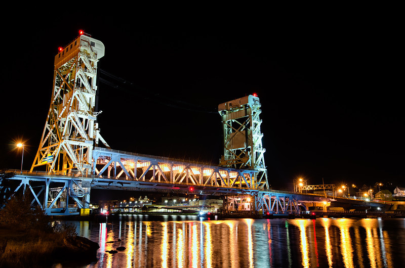 Portage Canal Lift Bridge