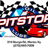 Pitstop Logo with address and phone