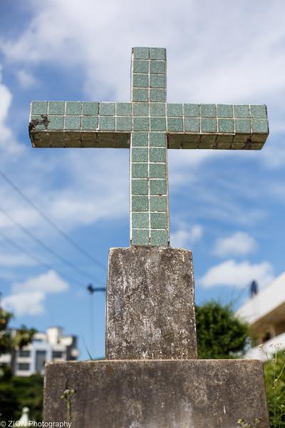 The Cross on a pedestal
