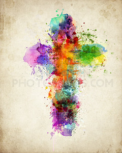 Paint cross