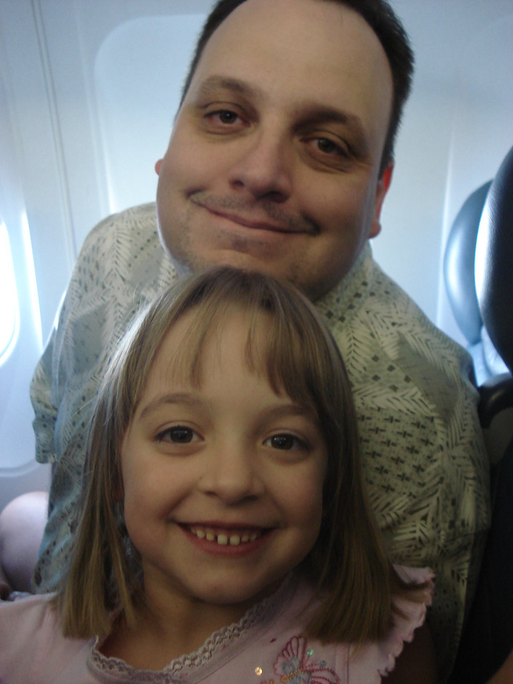 two dorks on the plane.