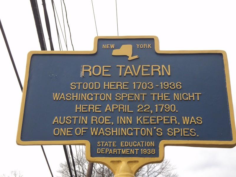 Roe Tavern marker