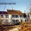 """The Roe Tavern in its new setting (since being moved in 1936) on Millie Lane in East Setauket. This is a private residence. See an article about it at:  <a href=""""http://www.3villagecsd.k12.ny.us/Elementary/minnesauke/3villagehist/RoeTavern.htm"""">http://www.3villagecsd.k12.ny.us/Elementary/minnesauke/3villagehist/RoeTavern.htm</a><br /> These three photos of the house are from that webpage."""