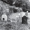 Old view of the cemetery found on the web. Townsend's stone may be the one on the left.