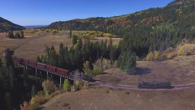 The Cumbres & Toltec Narrow-Gauge Railroad