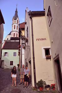 Our lodging in Cesky Krumlov