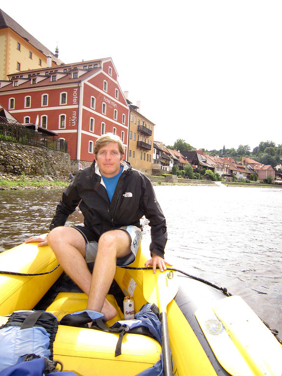 Floating the Vltava river
