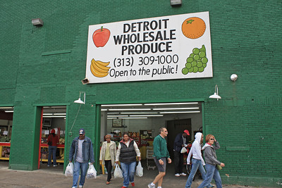 Detroit Eastern Market District.