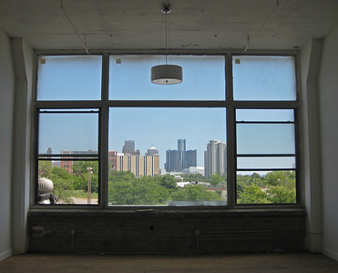 View from Detroit loft.