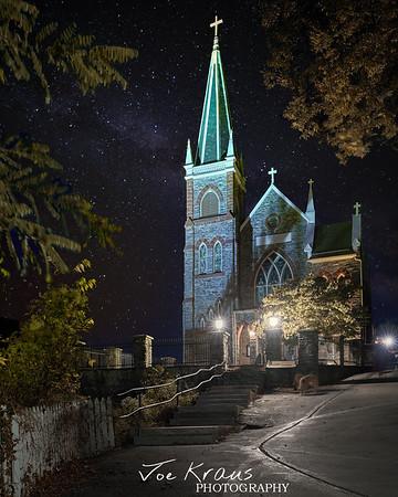 Harpers Ferry Catholic Church Milkyway