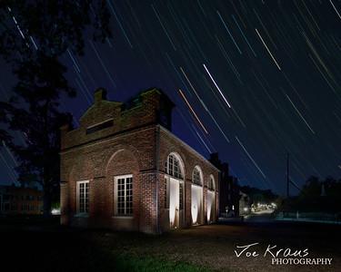 John Browns Fort at Night