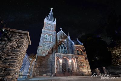 Church at Night II