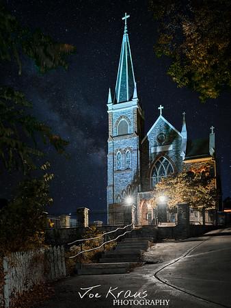 Harpers Ferry Catholic Church Stars