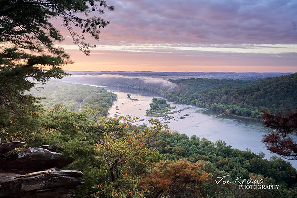 Gentle Sunrise over the Potomac