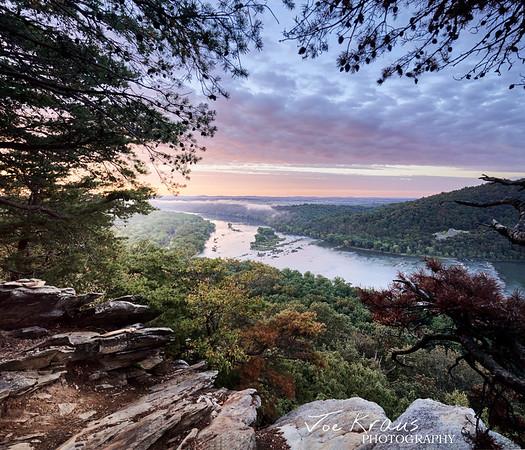 Sunrise Cliff - Potomac River