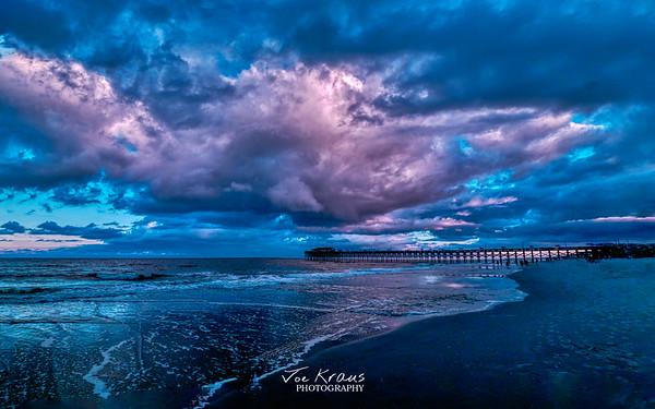 Beach Sunset in Hypercolor